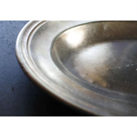 アンティーク・silver plateオーバル皿