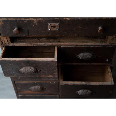 19世紀FRANCE/小さな商店のレジの棚