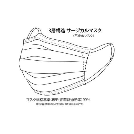Q67 三層構造不織布マスク
