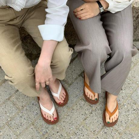 【予約販売】mer flip flops