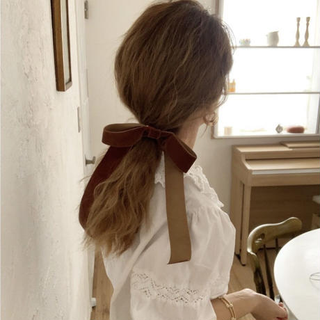 【即納】velvet ribbon hair gom
