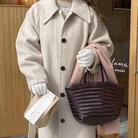 【先行予約販売】rumelu handmade coat
