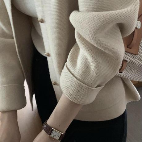 【予約販売】mare knit jacket cardigan