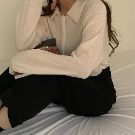 【即納】creamy cardigan