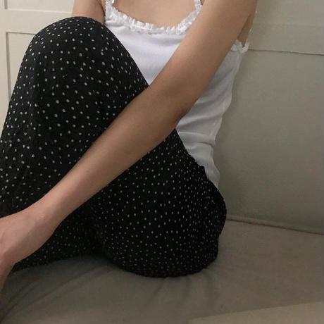 【予約販売】frill cotton pajamas