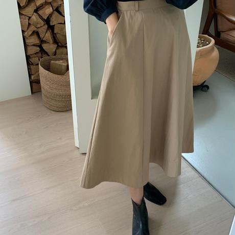 【予約販売】flare simple skirt