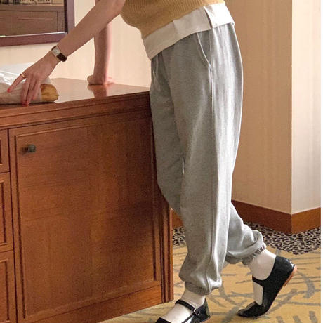 【即納】daily sweat  pants