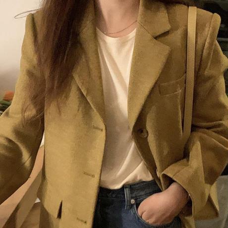 【予約販売】moon tweed jacket