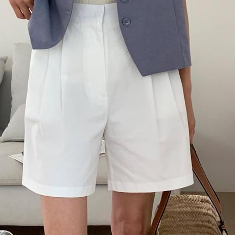 【即納】natural half pants
