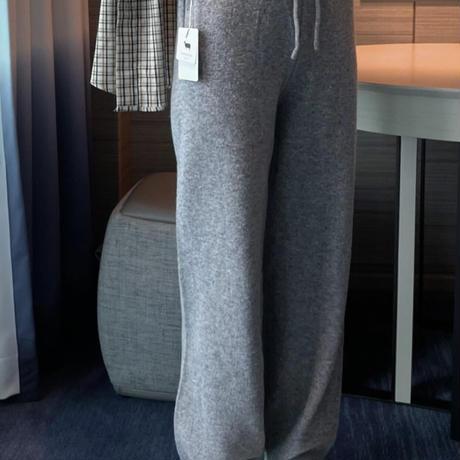 【予約販売】chas knit  pants