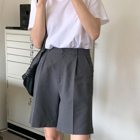 【予約販売】linen half pants