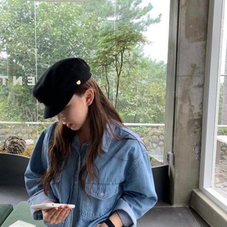 【予約販売】baker hat