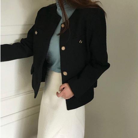【予約販売】lily tweed jacket