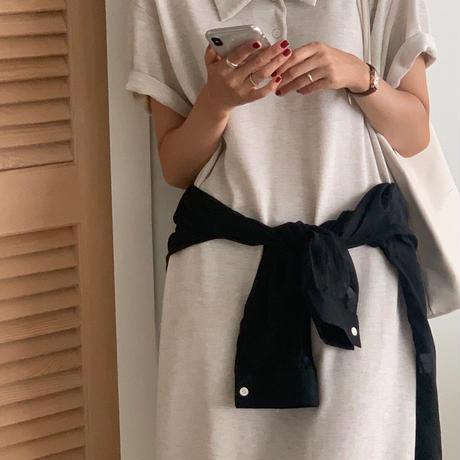 【即納】cotton long one-piece