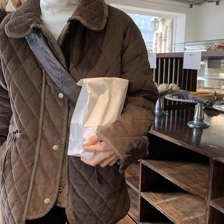 【即納】quilting kuma jacket