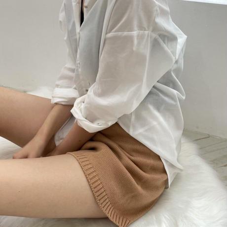 【予約販売】knit short pants