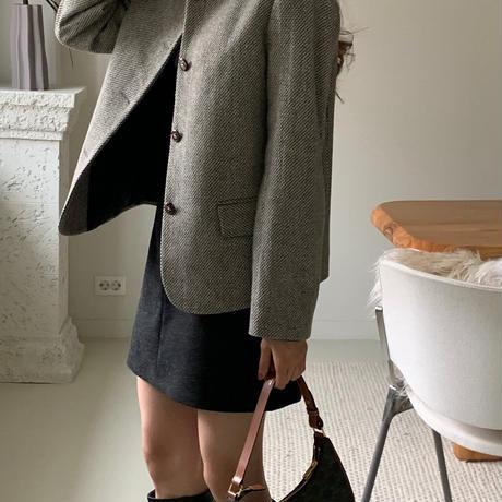 【予約販売】pos wool jacket