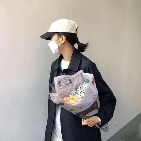 【即納】single classic trench coat