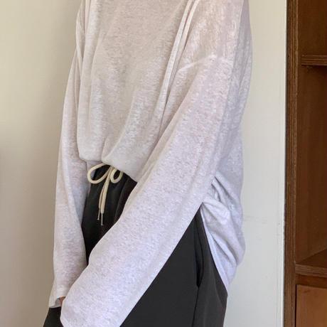 【即納】linen long T