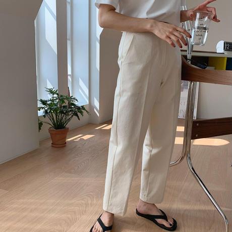 【予約販売】crop pants