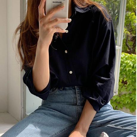 【予約販売】linen lady shirt