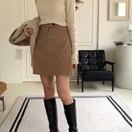 【予約販売】wool mini skirt