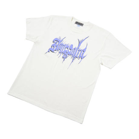 Metalic Tee  (White)