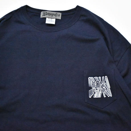 Repeat Big Tee  (Navy)