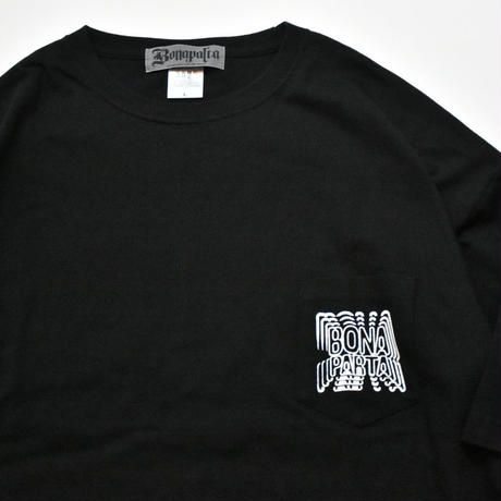 Repeat Big Tee  (Black)