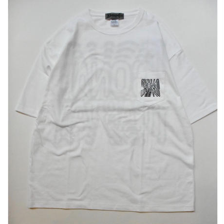 Repeat Big Tee  (White)