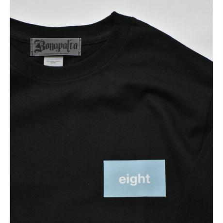 eight L/S Tee  (Black)
