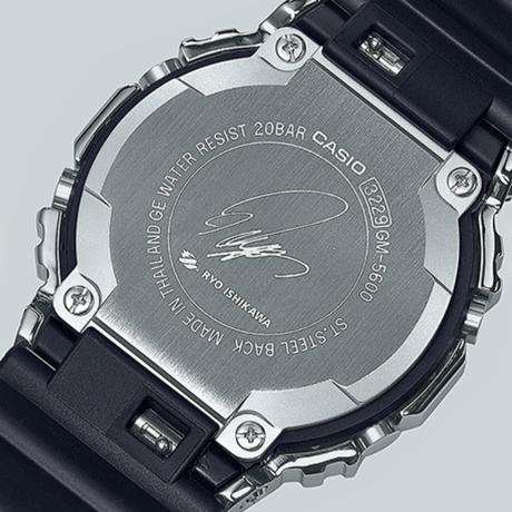 GショックGM-5600RI20-1JR メタルケース ブラック プロゴルファー石川遼選手モデル