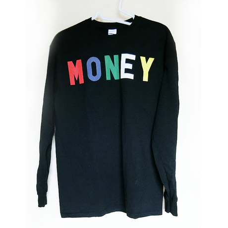 CHAOS MONEY Long-sleeve shirt ロンTEE /  83