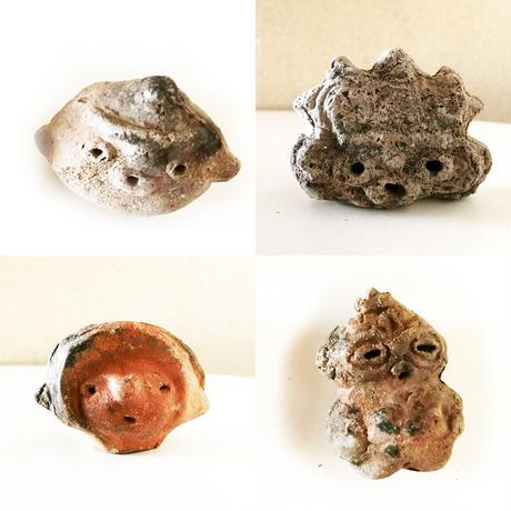 ミニチュア土器 土偶(縄文)/ やまうちたかし