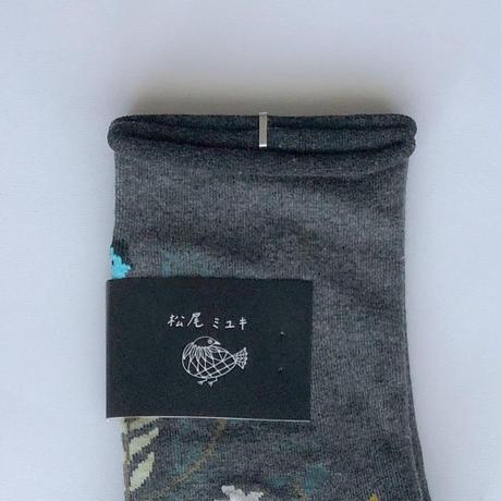 83SELECT / Miyuki Matsuo Plants 植物ソックス[ 松尾ミユキ ]|2-Color