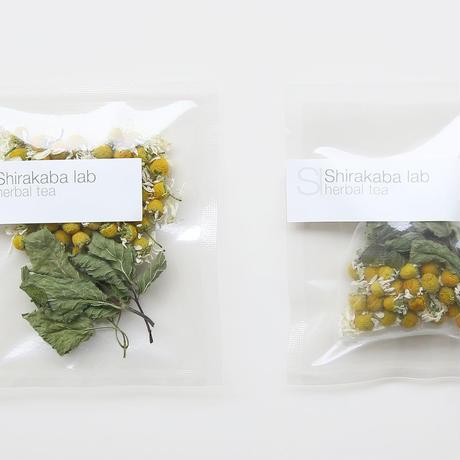 Shirakaba lab / Herbal tea Tea bag ジャーマンカモミール  [ Blend-Daily ]