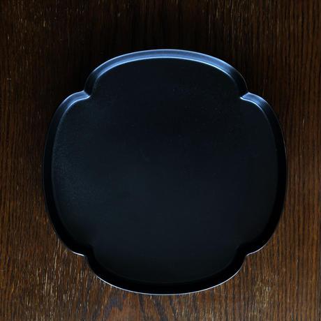 83SELECT / Tsudoi 鉄くろ釉 木瓜浅鉢|つどい鉢 (深山 )