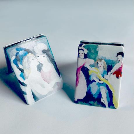 83 original / 芸術コンパクトミラー|Marie Laurencin 少女たち