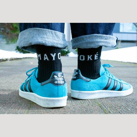 MAYOKÉ  /  MAYOKÉ SOCKS   Black