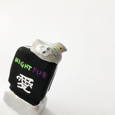 habotan / ナイトパブ愛と鳩 土人形 16