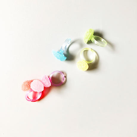 Gummy Candy Ring  6-Color / 83 SELECT