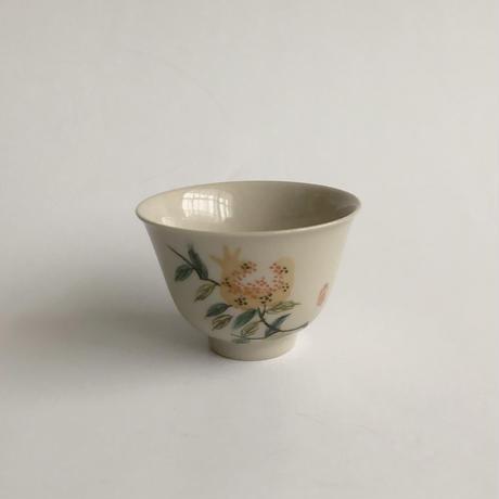 物色 / 手描き草木茶杯 2-Type