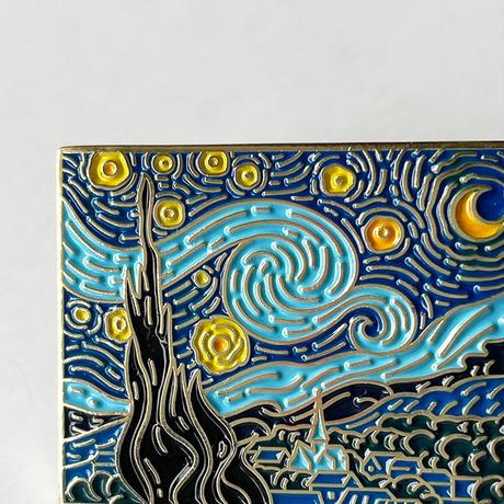 83SELECT /  PINS  Vincent Willem van Gogh  ゴッホ ピンバッジ 3-Type