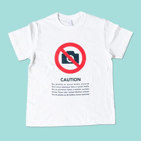 83 original / 撮影禁止 Tシャツ
