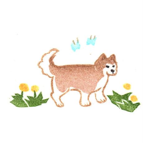 ポン豆ヤ / オーダー ポーズはんこ風イラスト カラー|Only ONE-83