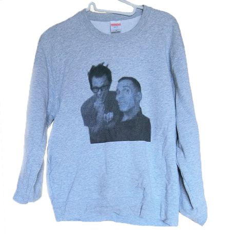 Jackass Sweatshirt Johnny & Steve-O トレーナー /  83