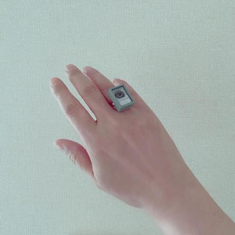 しばたたかひろ / 化石標本の指輪(アンモナイト)