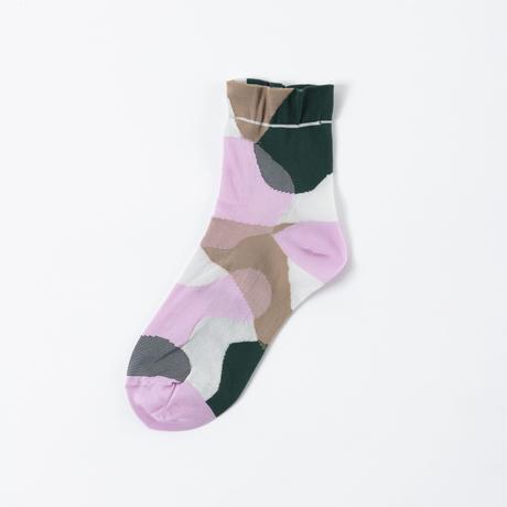 TRICOTE / LAYER LINE SOCKS|2-Color