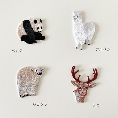 83SELECT / 刺繍ワッペン [ 動物 ] |4-Type