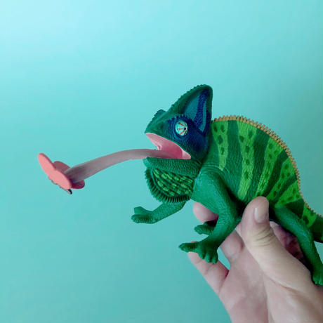 83SELECT /  フィギュア Chameleon Figure エボシカメレオン [Safari]